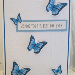 Wishing you the best day greeting card