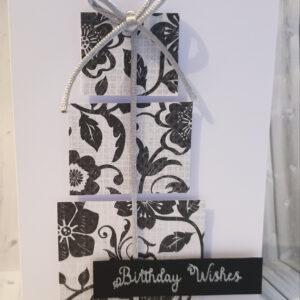 Birthday present birthday card