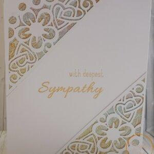Deppeset sympathy card