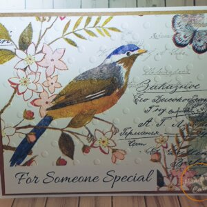 Napkin greeting card