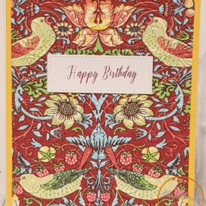 abstract napkin greeting card